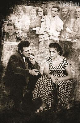 Бурный роман с Лидией Малюковой у отца завязался, когда они вместе работали в спектакле «Каменное гнездо»...