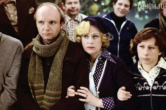 Светлана Немоляева с  Андреем Мягковым и Лией Ахеджаковой в фильме «Гараж». 1979 г.