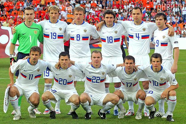 Сборная России по футболу 2008