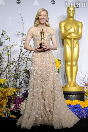 Кейт Бланшетт на церемонии «Оскар-2014»