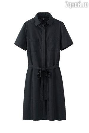 Платье-рубашка UNIQLO