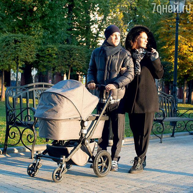 Екатерина Климова с мужем Гелой Месхи