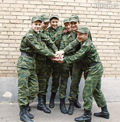 Кадр сериала «Кремлевские курсанты»