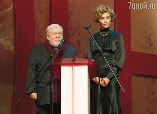 Ведущие церемонии открытия Сергей Соловьев и Екатерина Волкова