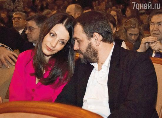 Евгения Крюкова с супругом Сергеем