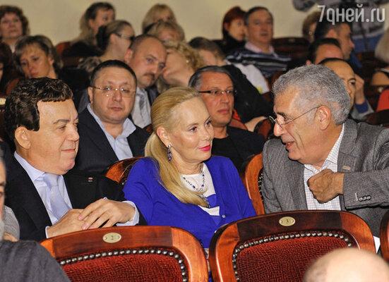 Иосиф и Нелли Кобзон и Лев Новоженов