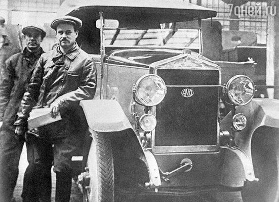 Директор автомобильного завода «АМО» Иван Лихачев, 1932 год