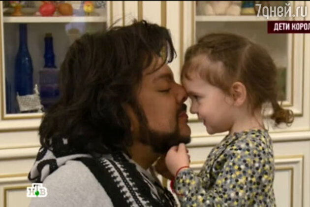 Филипп Киркоров с дочерью Аллой-Викторией