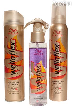 Коллекция Wellaflex «Для горячей укладки» от Wella