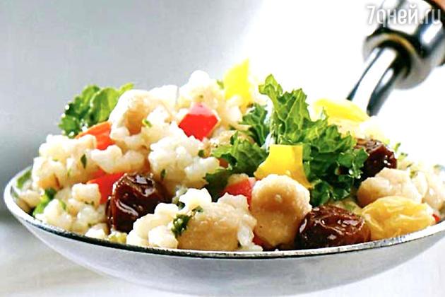 Плов из гречневой крупы с нутом: рецепт основного блюда
