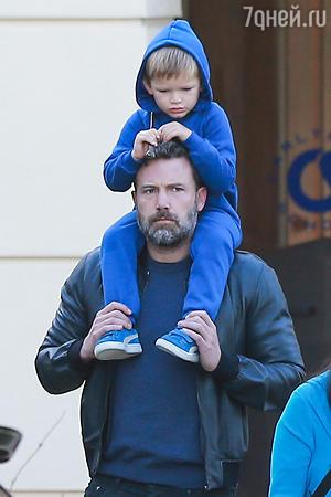 Бен Аффлек с сыном