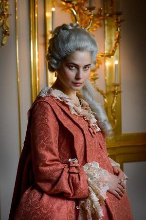 Юлия Снигирь в образе Екатерины Великой