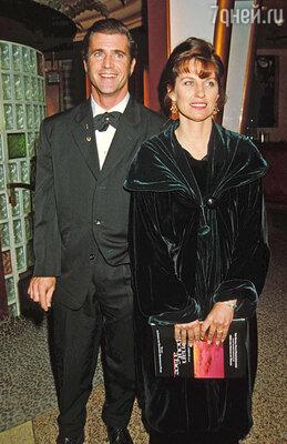 С женой Робин Мэл прожил 30 лет