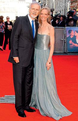 Джеймс Кэмерон со своей пятой женой Сьюзи Эмис