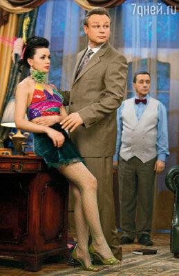 Продюсер Шаталин и его любимая женщина Виктория. Ситком «Моя прекрасная няня»