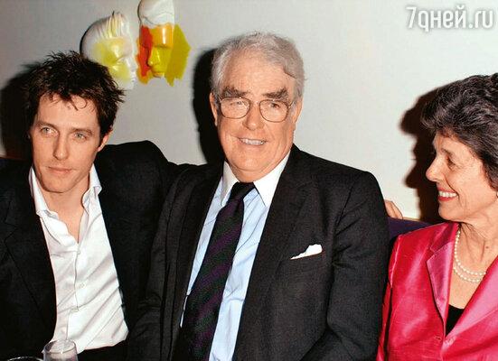 С отцом Джеймсом и матерью Финволой