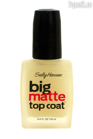 ������� �������� ��� �������� Big Matte Top Coat �� Sally Hansen