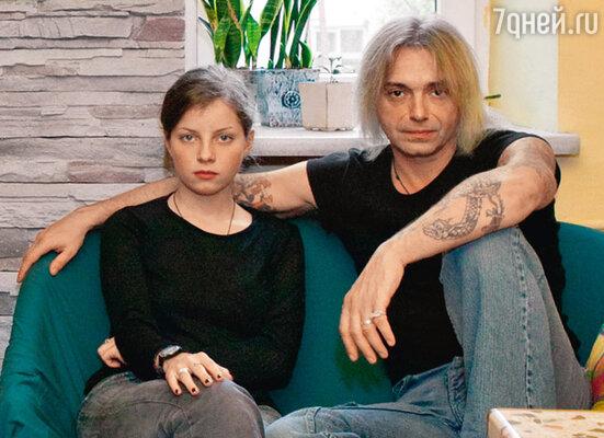 Константин Кинчев с дочерью Марией