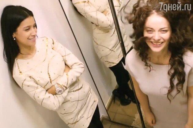 Марина Александрова и Равшана Куркова в фильме «Нереальная любовь»  2014