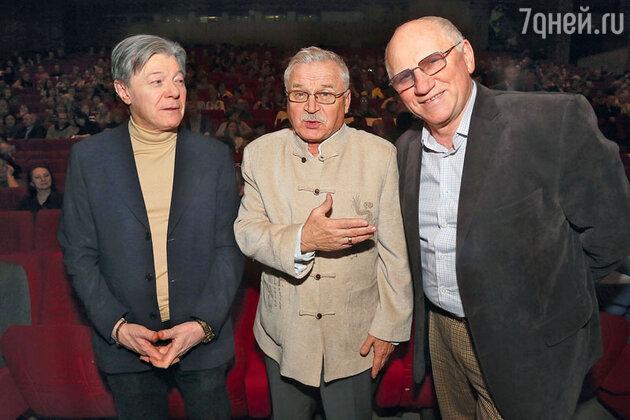 Александр Збруев с Сергеем Никоненко и Валерием Бариновым