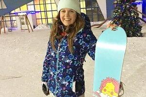 ВИДЕО: Анастасия Денисова покорила новую вершину