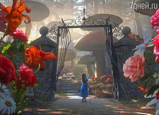Кадр фильма  «Алиса в стране чудес»