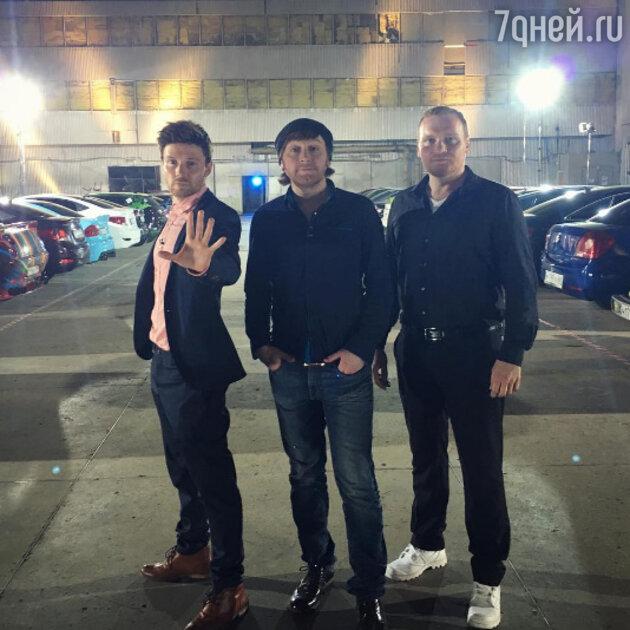Сергей Сафронов с братьями
