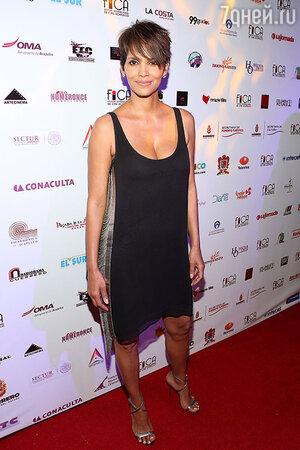 Холли Берри (Halle Berry)  на кинофестивале в Мехико