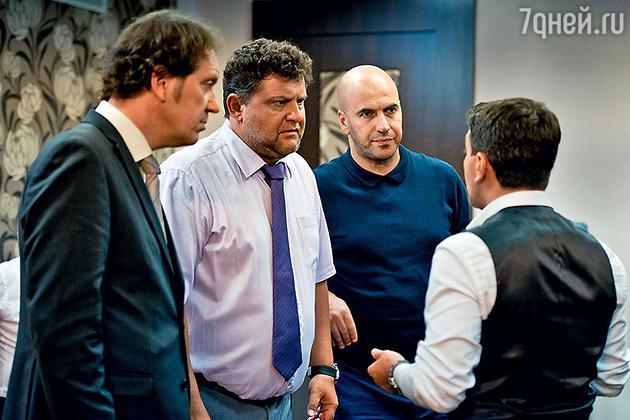 Александр Демидов, Александр Самойленко, Ростислав Хаит и Леонид Барац
