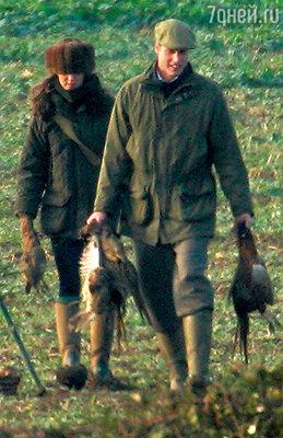 В отличие от Дианы Кейт смогла полюбить охоту