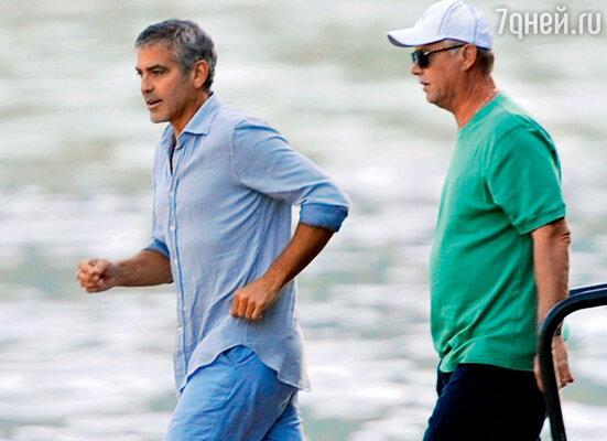 Джордж Клуни и отец его нынешней подружки Стэйси