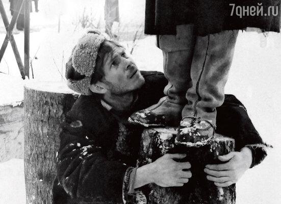 В фильме Ларисы Шепитько «Восхождение». 1976 г.