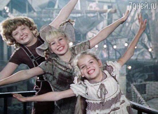 Кадр из фильма «Пеппи Длинныйчулок». 1984 год