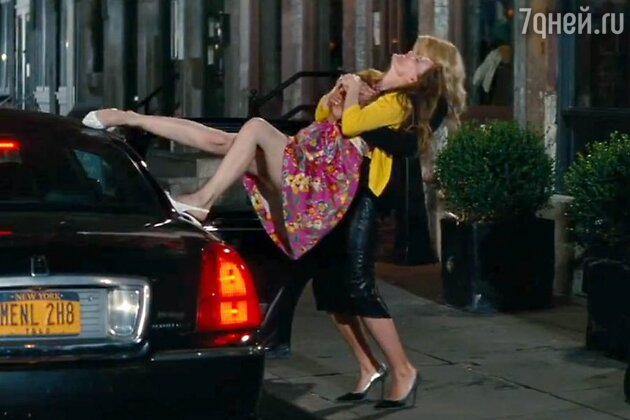 Кэмерон Диас и Лесли Манн в комедии «Другая женщина» 2014