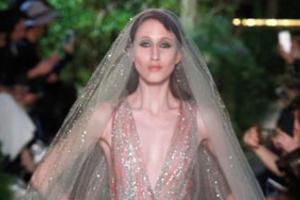 Новая коллекция Elie Saab Couture на Неделе Высокой моды в Париже