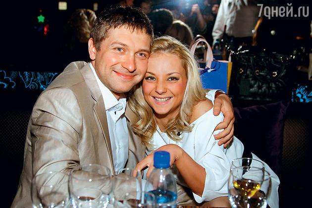 Дарья Сагалова с мужем Константином Масленниковым