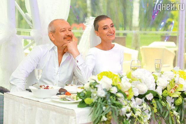 Молодожены Дмитрий Марьянов и Ксения