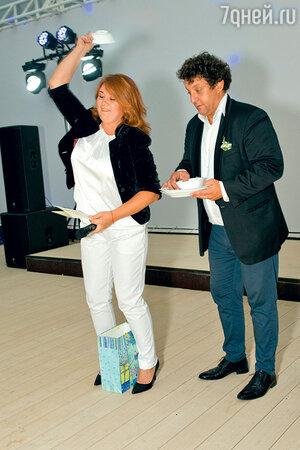Михаил Полицеймако и его жена Лариса