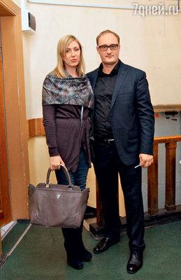На творческий вечер Ефремова пришел АндрейЗибров с супругой Анной