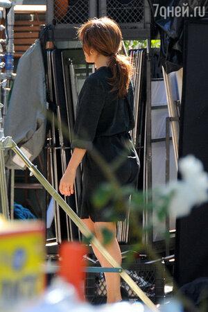 Дженнифер Лопес (Jennyfer Lopez)  на съемках нового фильма Роба Коэна (Rob Cohen) «Сосед»