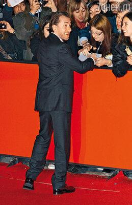 Настоящая известность пришла к Тиму достаточно поздно. На премьере фильма Френсиса Форда Копполы «Молодость без молодости» в Риме. 2007 г.