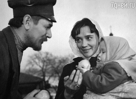 С Александром Белявским в фильме «Главный свидетель». 1969 г.