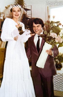 Свадьба Елены и Александра Фатюшина. 15 апреля 1986 г.