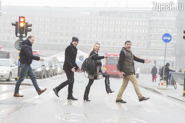 Александр Бобров, Гурам Баблишвили, Илья Оболонков, Наталья Громушкина
