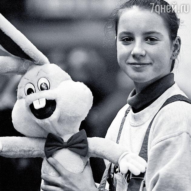 Ирина Слуцкая в детстве
