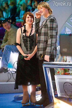 Ирина Слуцкая и Евгений Плющенко