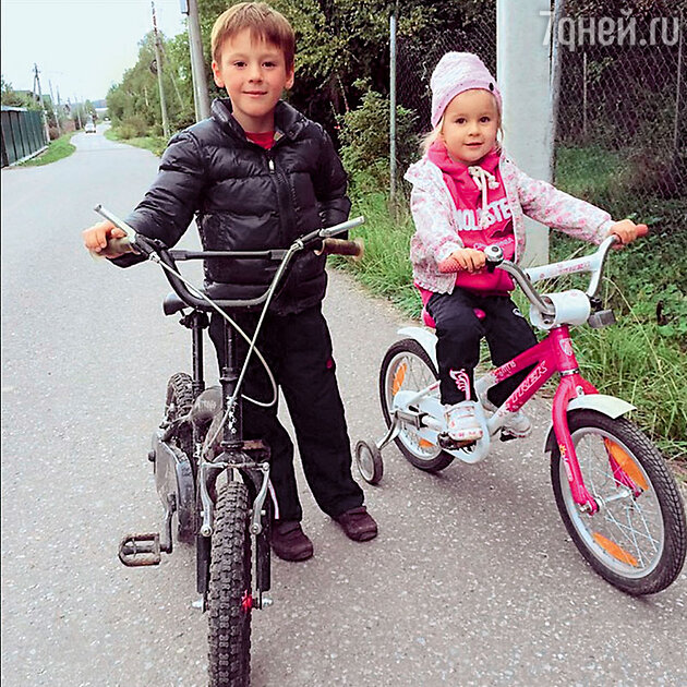 Дети Ирины Слуцкой