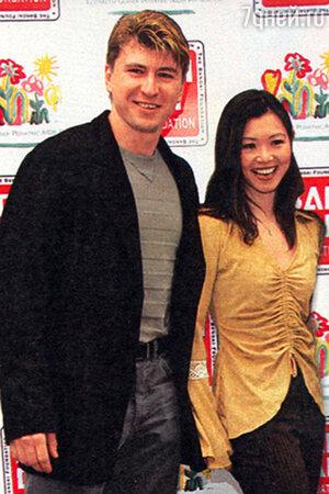 Алексей Ягудин и Киоко Ина