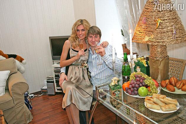 Алексей Ягудин и Саша Савельева