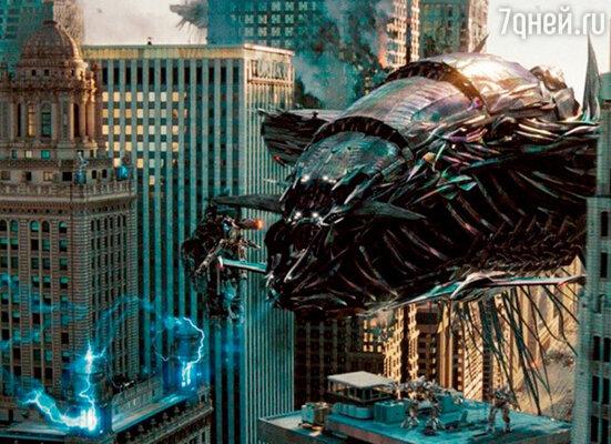 Кадр фильма «Трансформеры 3: Темная сторона Луны »